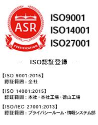 ISO09001品質方針